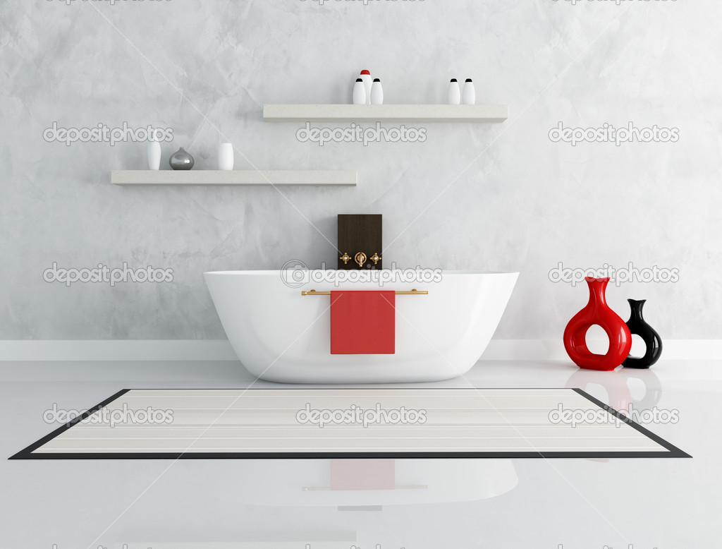 elegant modern bathroom