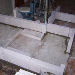 Průběh rekonstrukce koupelny